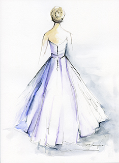 Turning wedding dresses into works of art photo 3